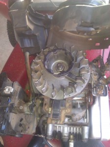 Lawnmower Engine Flywheel