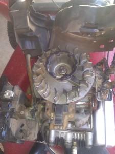 Lawnmower Engine Flywheel