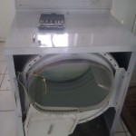 Dryer Being Repaired